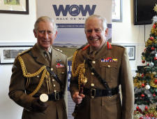 HRH The Prince of Wales and Field Marshal the Lord Guthrie